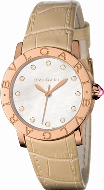 Bvlgari 101890 White Mother of Pearl