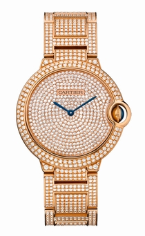 Cartier Ballon Bleu de Cartier HPI00489 Diamond Pave