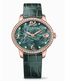 Girard Perregaux Cats Eye 80484D52A661-BK6A Green Mother of Pearl