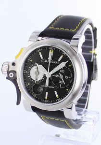 Graham Chronofighter 2TRAS.B01A.L95B Stainless Steel