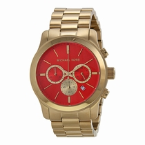 Michael Kors Runway MK5930 Gold-tone Stainless Steel