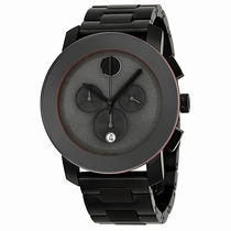 Movado Bold 3600142 Gunmetal-plated Stainless Steel