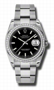 Rolex Datejust 116244BKSO Automatic