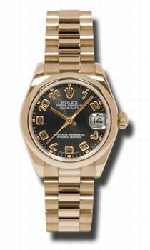 Rolex Datejust 178245BKAP Ladies