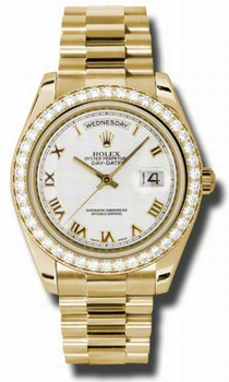 Rolex Day-Date II 218348WRP Mens