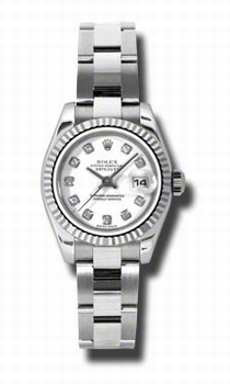 Rolex Lady Datejust 179174WDO White