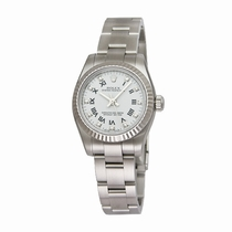 Rolex Oyster Perpetual No Date 176234WRDO White With 11 Diamonds