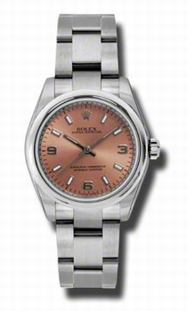Rolex Oyster Perpetual No Date 177200PASO Stainless Steel