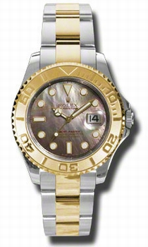 Rolex Yacht-Master 168623BMSO Black Mother of Pearl