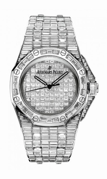 Audemars Piguet Royal Oak 15130BC.ZZ.8042BC.01 18 kt White Gold set with diamonds