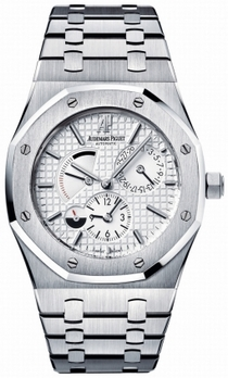 Audemars Piguet Royal Oak 26120ST.OO.1220ST.01 White Guilloche Dial