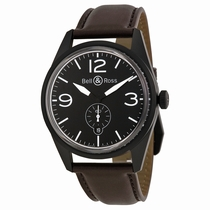 Bell and Ross Vintage BRV 123-BL-CA/SCA Automatic