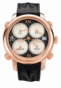 Jacob & Co. Five Time Zone h24CFrg