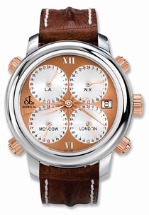 Jacob & Co. Five Time Zone h24rC Swiss Made