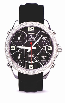 Jacob & Co. Five Time Zone JC2 Black