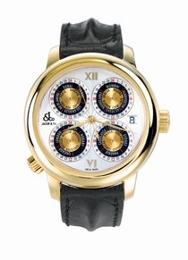 Jacob & Co. GMT World Time Automatic gMT1Yg 18k Yellow Gold