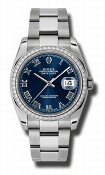 Rolex Datejust 116244BLRO Ladies